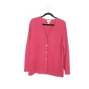 E Wear Nordstrom Red Cardigan Size 1X